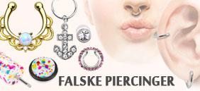 falske piercinger